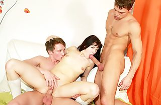 Horny college student porking at B-day..