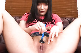 Hina Maeda in her apartment stripping..