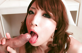 Gorgeous Aya skull fucked by a..